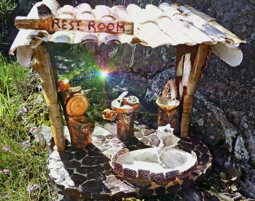 Irish fairy   bathroom