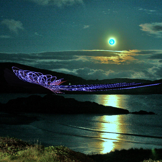 Blue Moon in Derrynane
