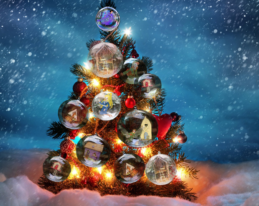 The Fairies Christmas Tree