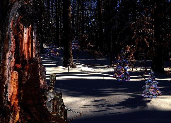 Fairy Christmas trees