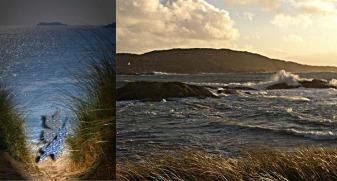 Dunes in Derrynane