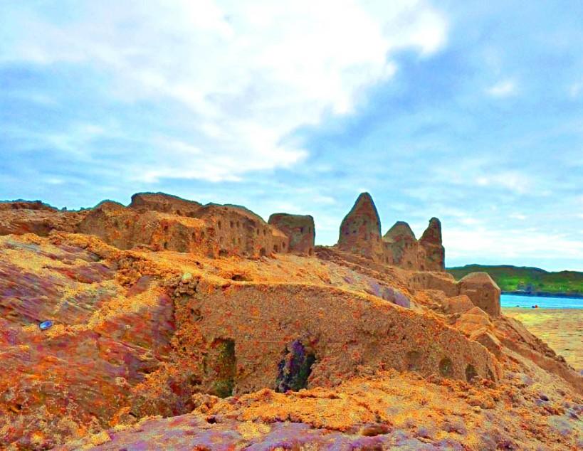 Irish Fairy Sandcastles